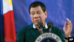 Presiden Filipina Rodrigo Duterte (foto: dok).