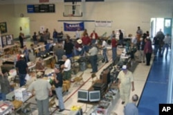 Local amateur radio clubs hold 'Hamfests,' where operators can meet to share stories and equipment.