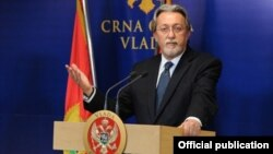 Savetnik crnogorskog premijera za vanjsku politiku Nebojša Kaludjerović