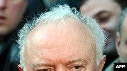 Эдуард Амвросиевич Шеварднадзе. Тбилиси. Грузия. 4 января 2004 года