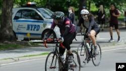 Велосипедисти во Њујорк
