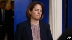 Lisa Monaco, Penasehat Presiden untuk Penanggulangan Terorisme, termasuk dalam daftar calon yang kemungkinan dipilih oleh Presiden Obama sebagai kepala FBI (16/4).