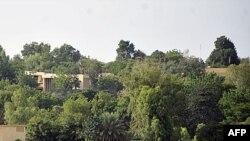 Ảnh chụp ngày 13 tháng 9, 2011 cho thấy nhà khách Villa du Conseil de l'Entente tại thủ đô Niamey ở Libya, nơi các giới chức của chế độ Libya bị lật đổ được cho là đang ẩn náu ở đó