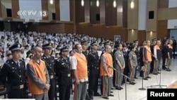 中国法院判处三名参与今年10月袭击天安门事件的三名嫌疑人死刑