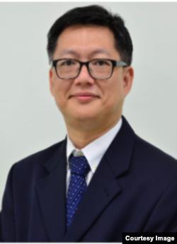 台灣國防安全研究院網路作戰資訊安全研究所所長曾怡碩. (曾怡碩提供)