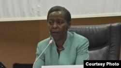 Minisitiri w'ububanyi n'amahanga w'u Rwanda Louise Mushikiwabo