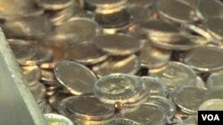 Đồng kim loại được đúc ở Nam Triều Tiên
