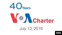 Kỉ niệm lần thứ 40 Hiến Chương VOA