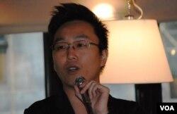 金融從業員潘智龍表示,願意參加佔中公民抗命,就算被捕入獄都不會辯護