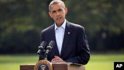 Obama dijo que las operaciones serán a largo plazo, pero que las fuerzas estadounidenses no estarán en tierra en Irak.