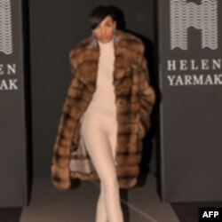Елена Ярмак представила новую коллекцию мехов в Нью-Йорке