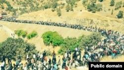 Marivan protest