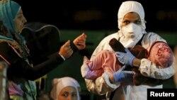 叙利亚船民儿童被营救