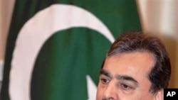 Pakistani Prime Minister Syed Yusuf Raza Gilani (file photo)