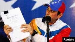 Pese al resultado de la auditoria, Capriles pidió al Tribunal Supremo pronunciarse sobre impugnación de elecciones presidenciales.