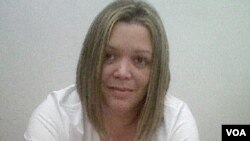 La jueza María Lourdes Afiuni, está registrada en el Sistema de Presentaciones del Palacio de Justicia.