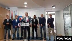 Savez za Srbiju oformio front onih koji bojkotuju izbore, Foto: VOA