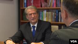 Sali Berisha ex-president of Albania