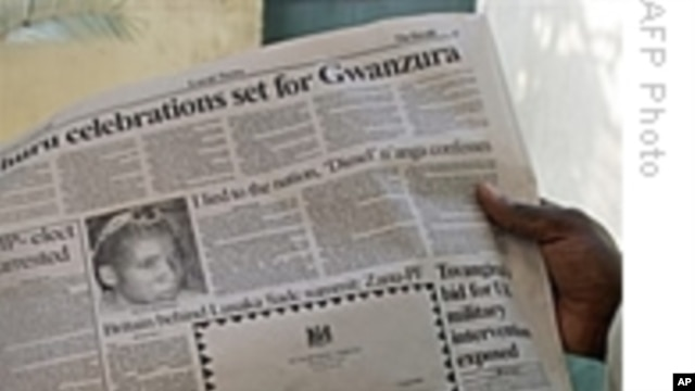 Controversy as Zimbabwe Media Commission Proposes Monitoring Panel