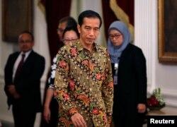 FILE - President Joko Widodo