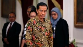 Tân Tổng thống Indonesia Joko Widodo.