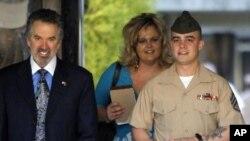 U.S. Marine Staff Sgt. Frank Wuterich (file)