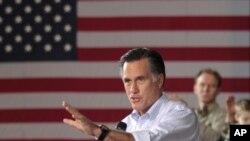 Ứng cử viên của đảng Cộng hòa Mitt Romney nói chuyện với các ủng hộ viên tại Milwaukee, Wisconsin, ngày 2/4/2012