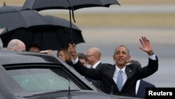 Perezida w'Amerika Barack Obama muri Cuba