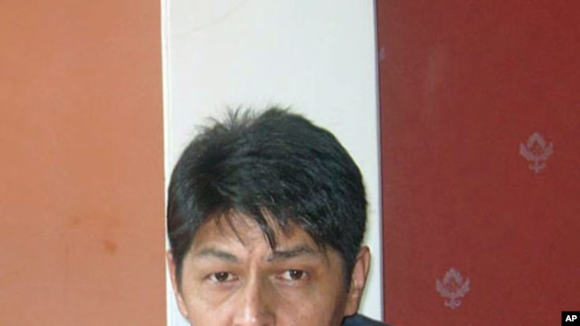 Photo of Abdumalik Bobaev, who reports on Uzbekistan for the Voice of America