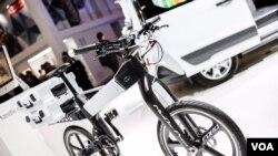 دوچرخه الكتريكی مفهومی شركت فورد