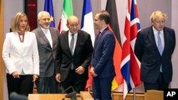 وزیر خارجه ایران و همتایان اروپایی