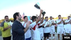 Nyu-Yorkda o'zbek futbol turniri