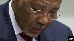 L'ancien président libérien Charles Taylor, jugé pour des atrocités, réclame sa pension