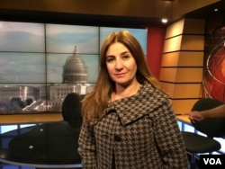 Vian Dakhil is the only Yazidi member of the Iraqi Parliament. She has been working to help tens of thousands of other Yazidis who are trapped in areas overrun by the Islamic State militants or who have fled the militants.