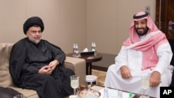 مقتدی صدر و شاهزاده محمد بن سلمان