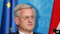 کارل بیلت وزیر امورخارجه سوئد