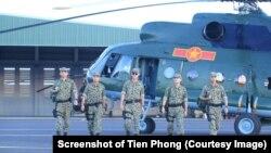 Một hình ảnh trong phim Hậu Duệ Mặt Trời phiên bản Việt của bộ phim truyền hình gây sốt của Hàn Quốc có tên Descendants of the Sun.