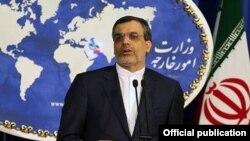 """سخنگوی وزارت خارجه ایران می گوید بخش هایی از گزارش احمد شهید را """"پذیرفته"""" و پذیرش تعدادی دیگر را """"در دستور کار خود دارد."""""""