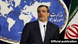 حسین جابری انصاری، سخنگوی وزارت امور خارجه ایران
