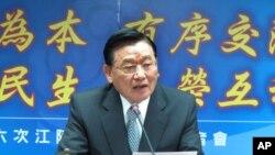 海基会董事长江丙坤说两岸会谈越来越困难