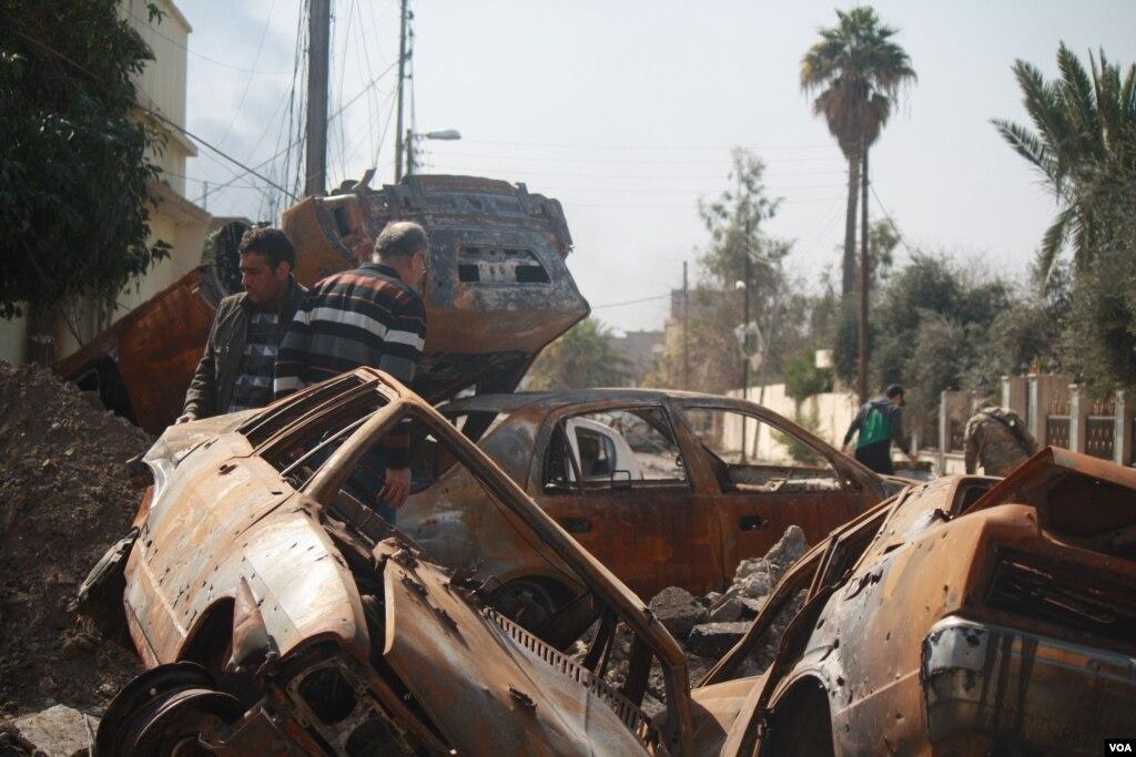 အေမရိကန္ေလေၾကာင္းဒဏ္ Mosul အရပ္သားရာေက်ာ္ေသဆုံး