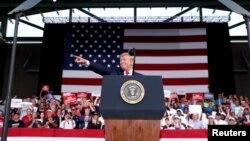 En las últimas semanas, Trump ha multiplicado los ataques contra Biden, el exvicepresidente de Barack Obama, prueba de que lo considera un oponente fuerte.