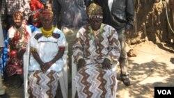 Primeira Dama Avó Ngando e rei do Cambombo