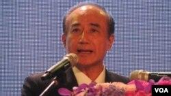 台湾立法院长王金平(美国之音 张佩芝拍摄)