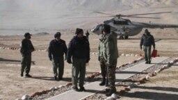 লাদাখ সফরে ভারতীয় বিমানবাহিনী প্রধান ভি আর চৌধুরী