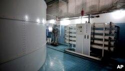 Sistem desalinasi air laut dengan menggunakan penyaringan di Gaza City, Jalur Gaza (foto: ilustrasi).