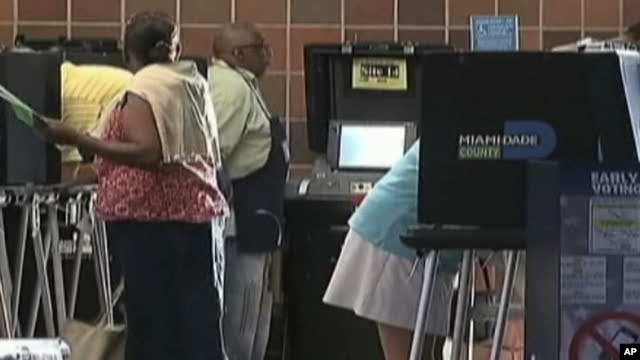 Early voting in Florida is underway as voters must choose between three major candidates for US Senate
