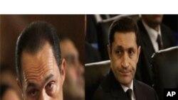 کرپشن کے الزام میں حسنی مبارک اور دونوں بیٹے زیر حراست