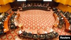 Situasi sidang di Mahkamah Konstitusi, Jakarta. (Foto: Dok)