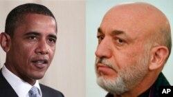 تماس تیلی کنفرانس رئیس جمهور امریکا و افغانستان